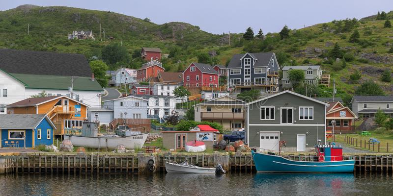 Kleine Haven in Newfoundland stock afbeeldingen