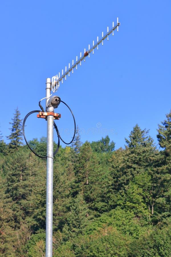 Kleine Hoge Machts Communicatie Antenne stock foto's