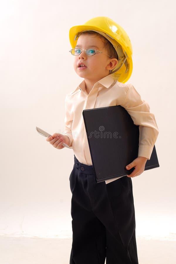 Kleine ingenieur stock fotografie