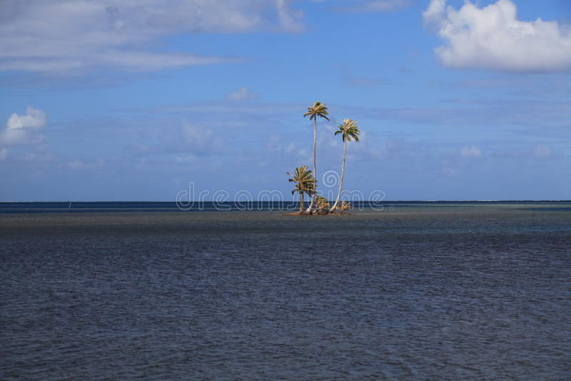 Kleine Insel lizenzfreies stockfoto
