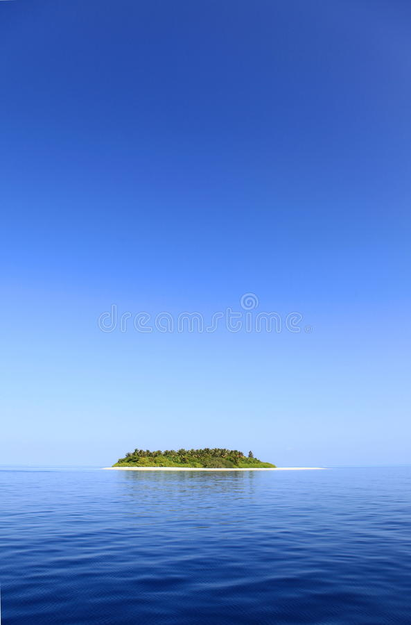 Kleine Insel lizenzfreie stockfotografie