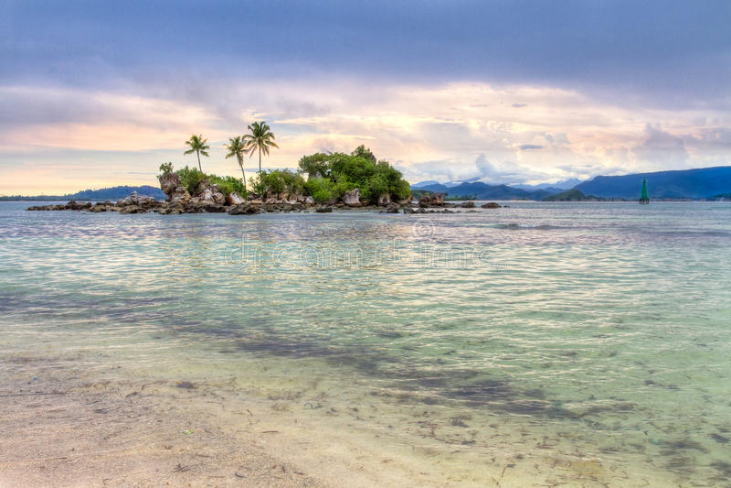 Kleine Insel stockbild