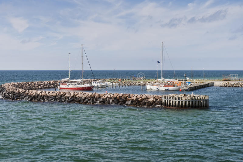Kleine Jachthaven royalty-vrije stock afbeeldingen