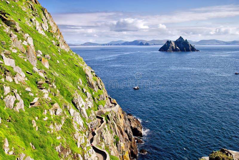 Kleine Kellig, Kerry, Ierland royalty-vrije stock afbeelding