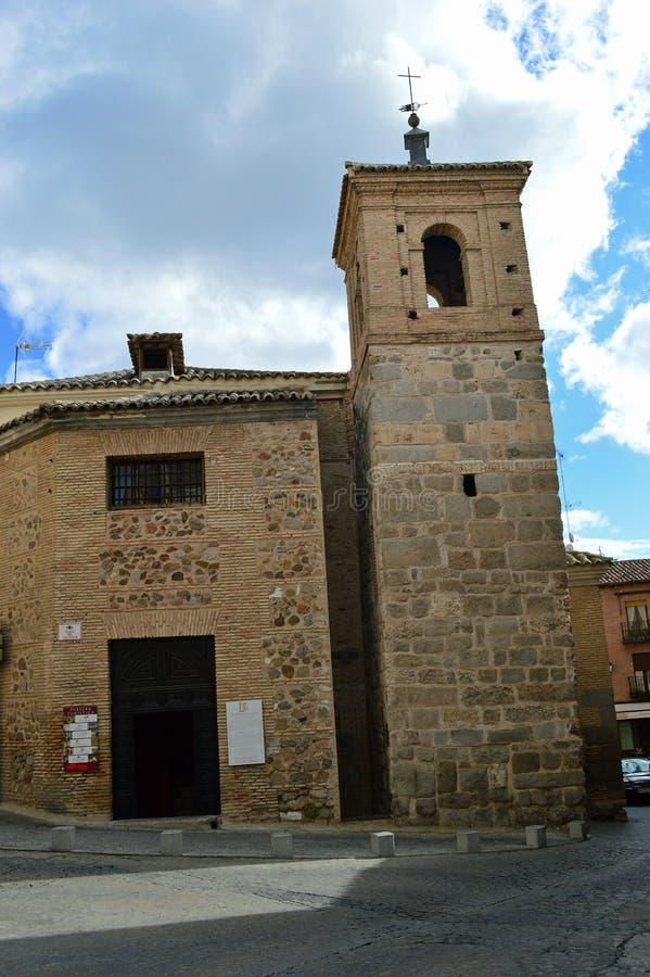 Kleine Kerk in Toledo Spain stock fotografie