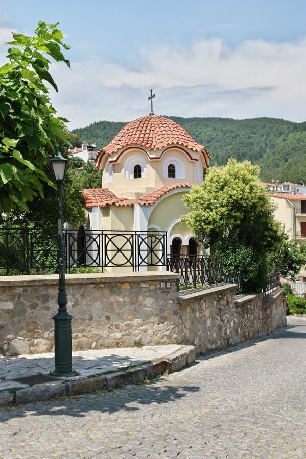 Kleine kerk in Xanthi royalty-vrije stock fotografie