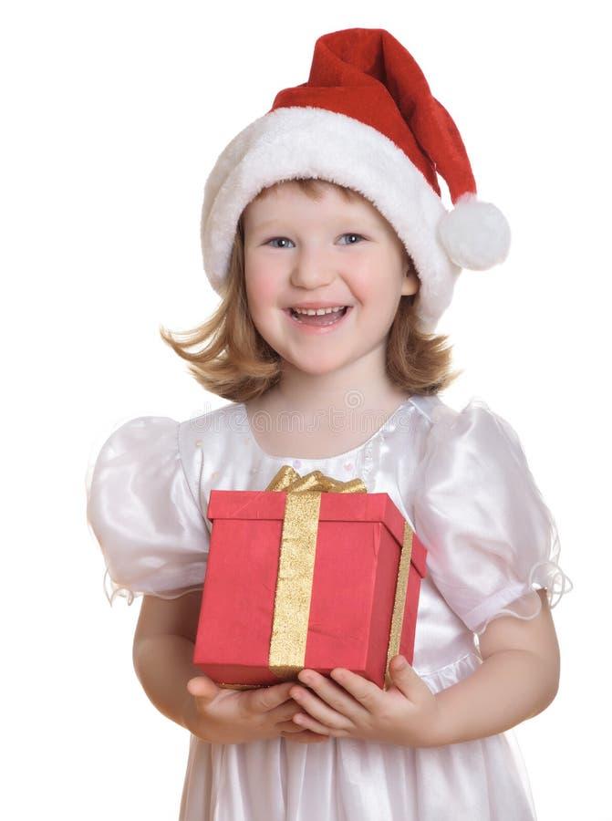 Kleine Kerstman royalty-vrije stock foto's