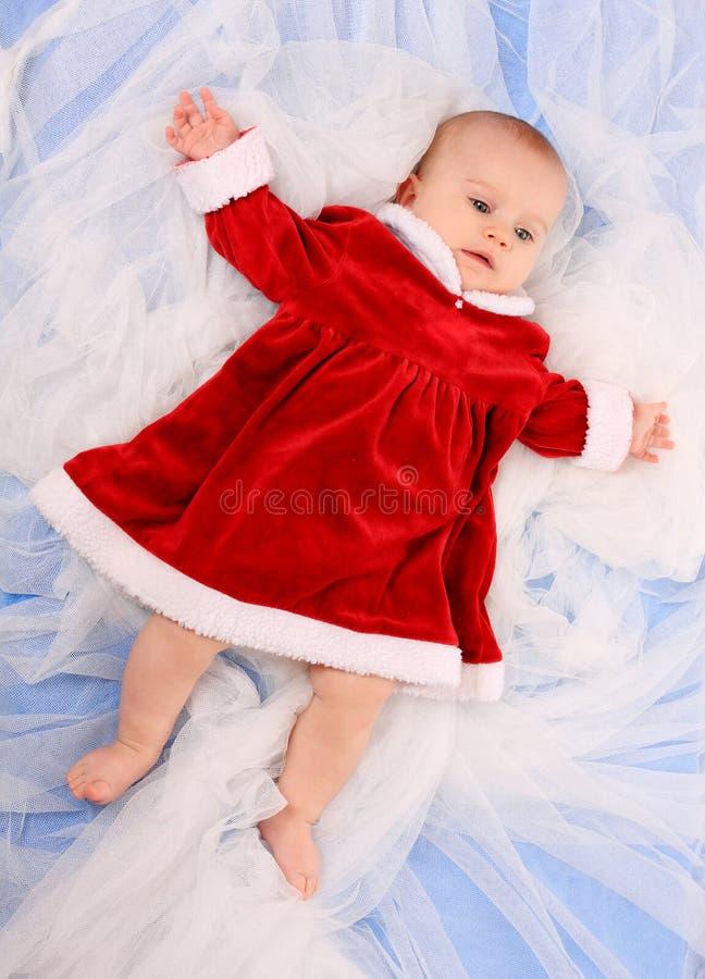 Kleine Kerstman. stock foto
