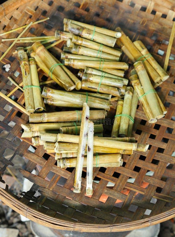 Kleine Khaolam (Thais Dessert) royalty-vrije stock afbeelding