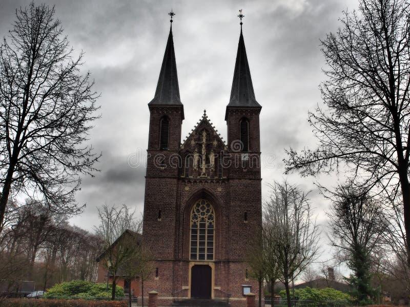 Kleine Kirche in Deutschland stockbild