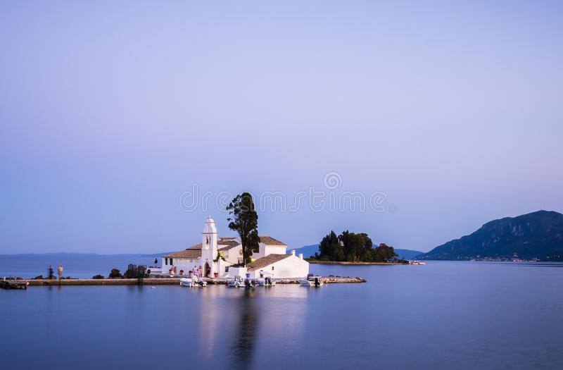 Kleine Kirche in Griechenland stockfoto