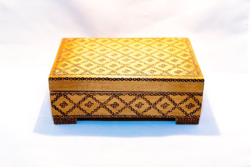 Kleine kist voor kostbaarheden royalty-vrije stock foto