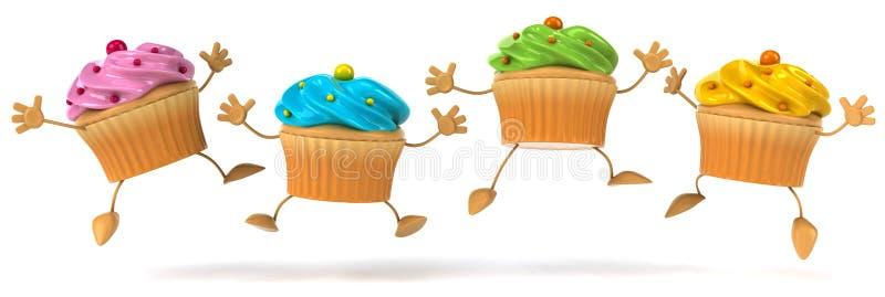 Kleine Kuchen vektor abbildung