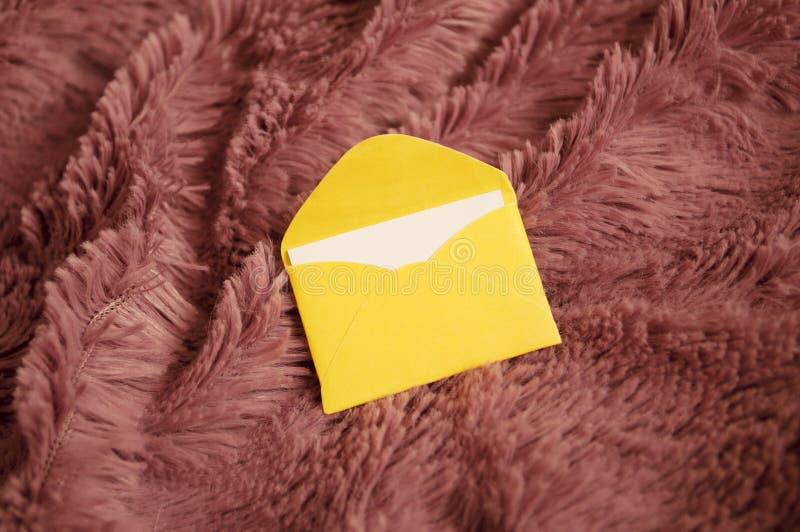 Kleine letter stock foto