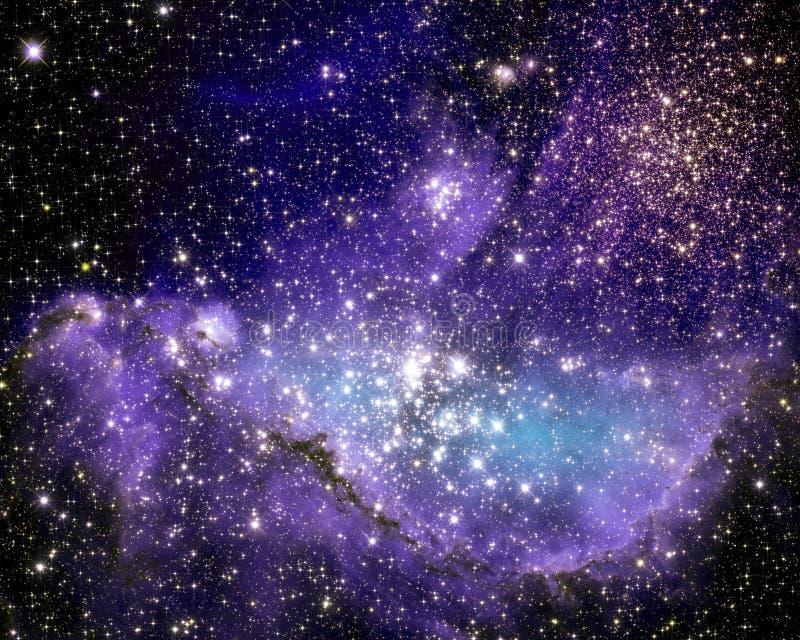 Kleine Magellanic-Wolke lizenzfreie abbildung