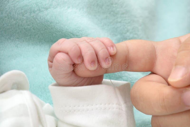 Kleine man geboren in 2019 royalty-vrije stock fotografie
