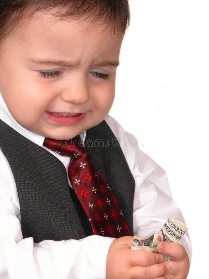 Kleine Mann-Serie: Was? Keine Erhöhung? lizenzfreie stockfotografie