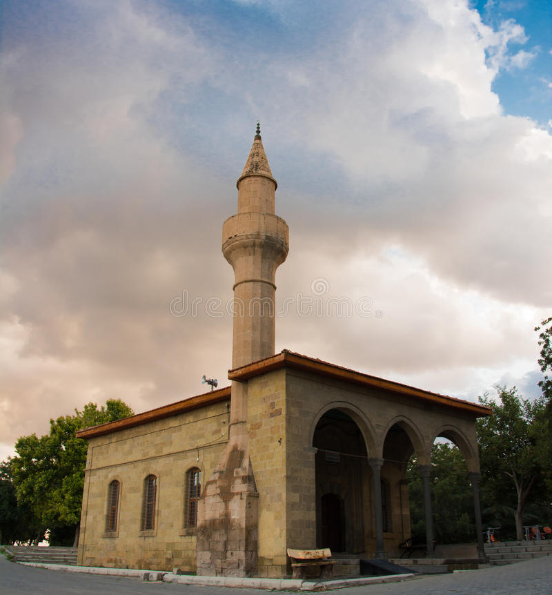Kleine moskee stock foto's