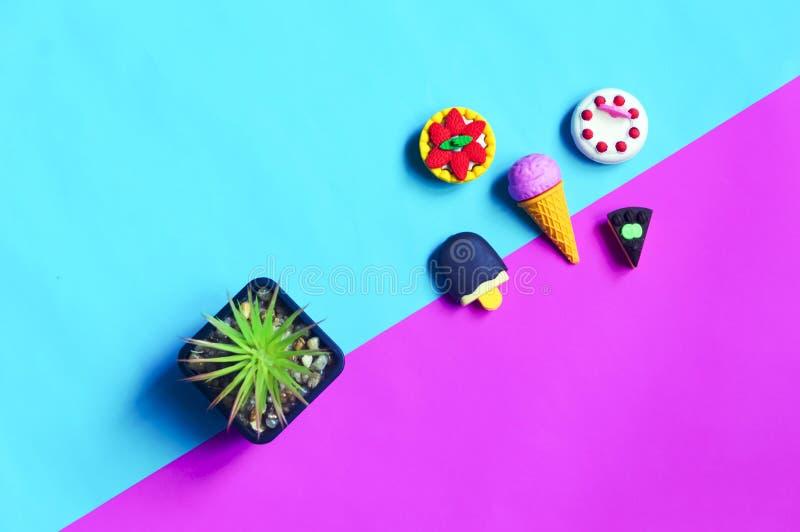 Kleine nette Gummisüßspeise lizenzfreie stockfotos