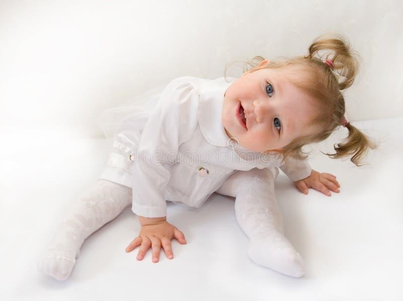 Kleine nette Prinzessin lizenzfreie stockbilder