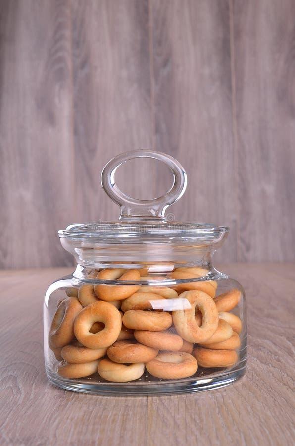 Kleine ongezuurde broodjes stock afbeelding