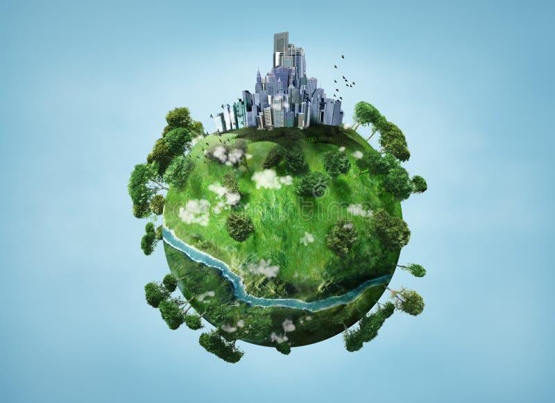 Kleine planeet royalty-vrije illustratie