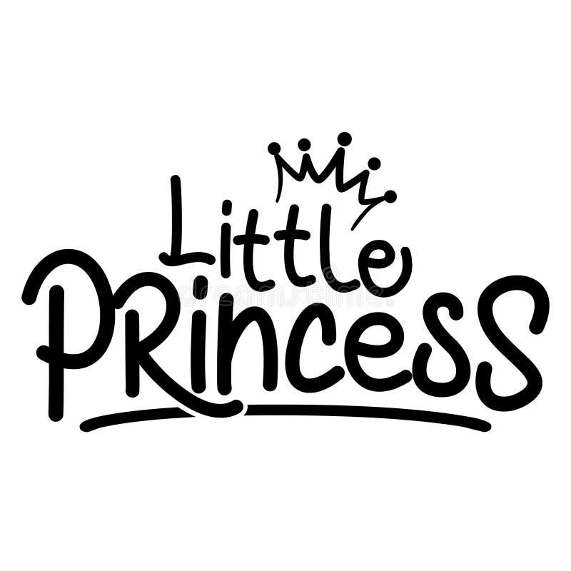 Kleine Prinzessin - Vector Illustration kleinen Prinzen vektor abbildung