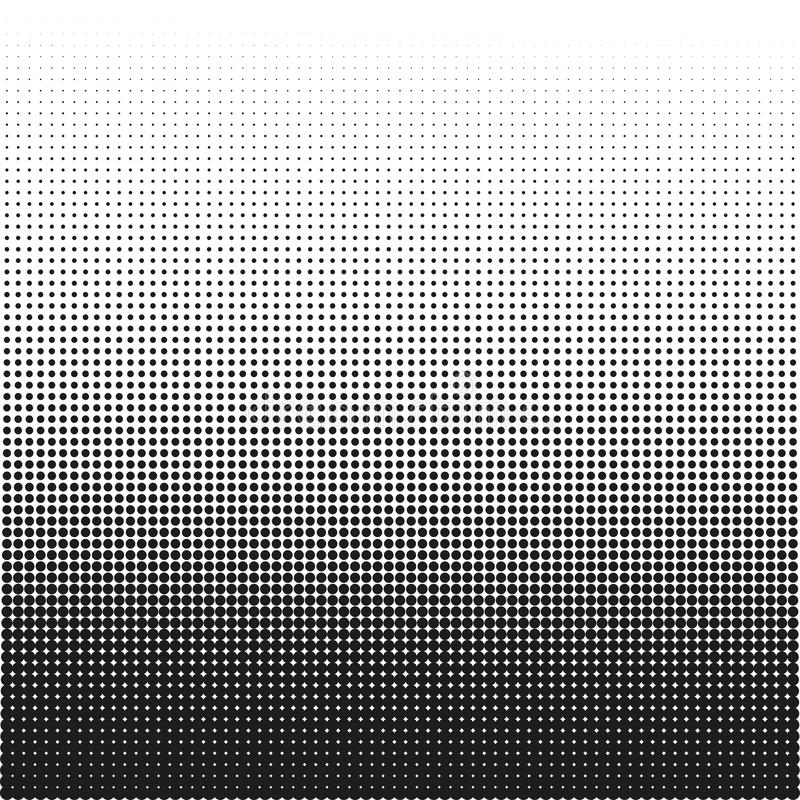 Kleine punten halftone vectorachtergrond Bekledingstextuur vector illustratie