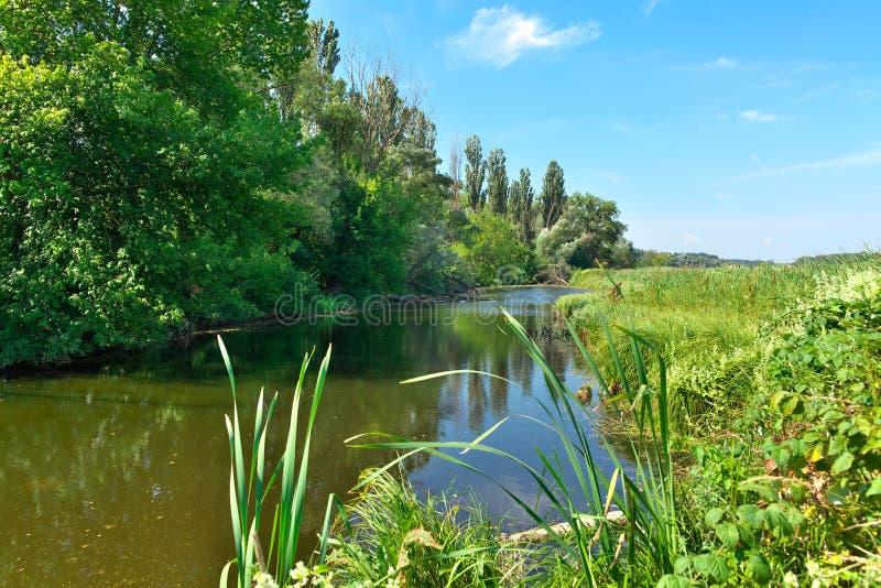 Kleine rivier royalty-vrije stock foto