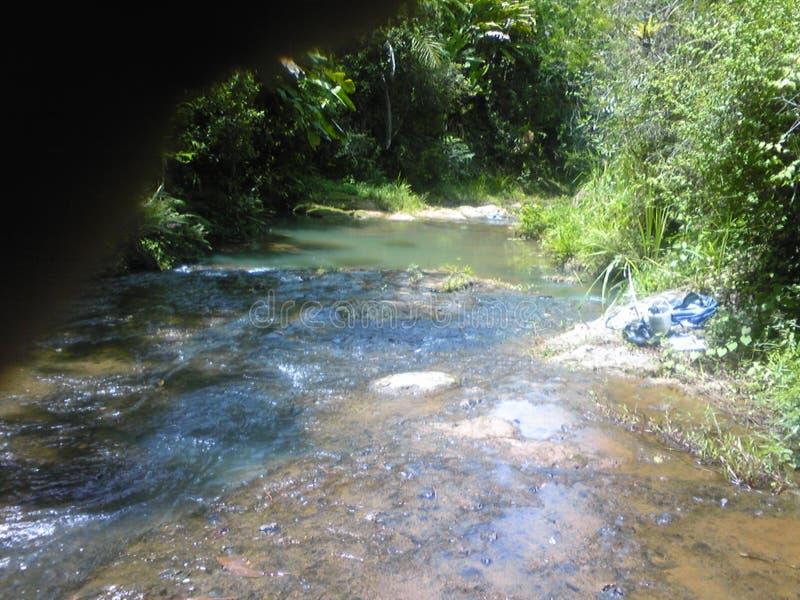 Kleine rivierdaling royalty-vrije stock afbeeldingen