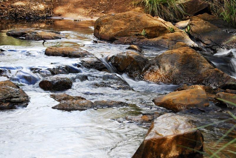 Kleine rivieren stock fotografie