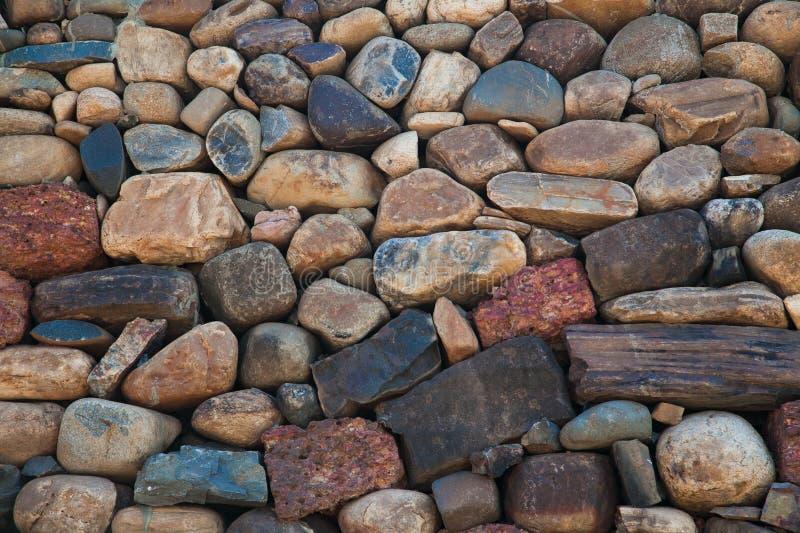 Kleine rode stenen royalty-vrije stock foto