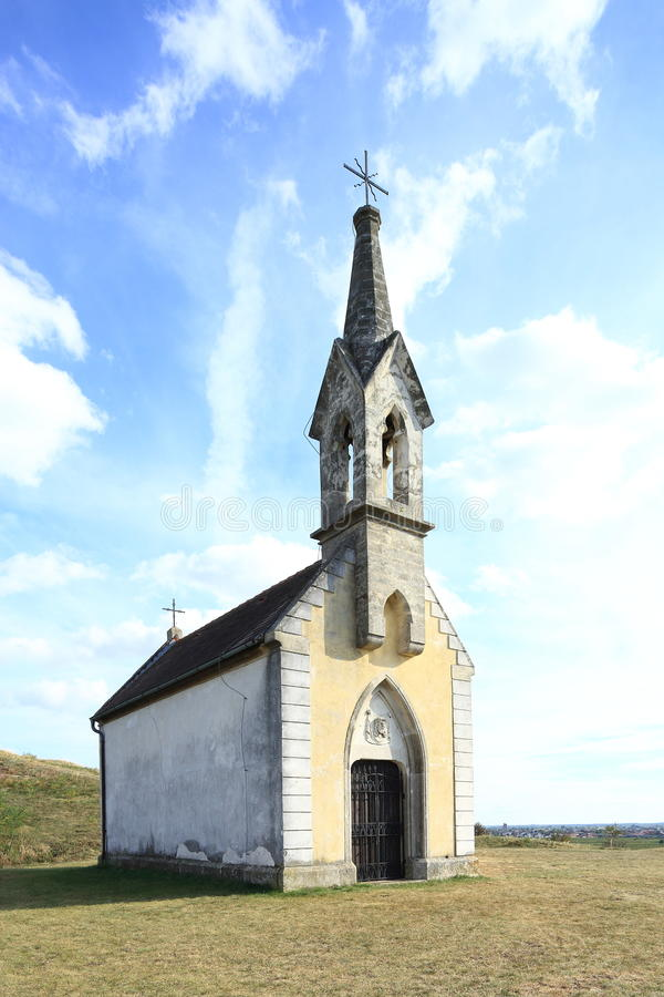 Kleine roman kerk royalty-vrije stock afbeelding