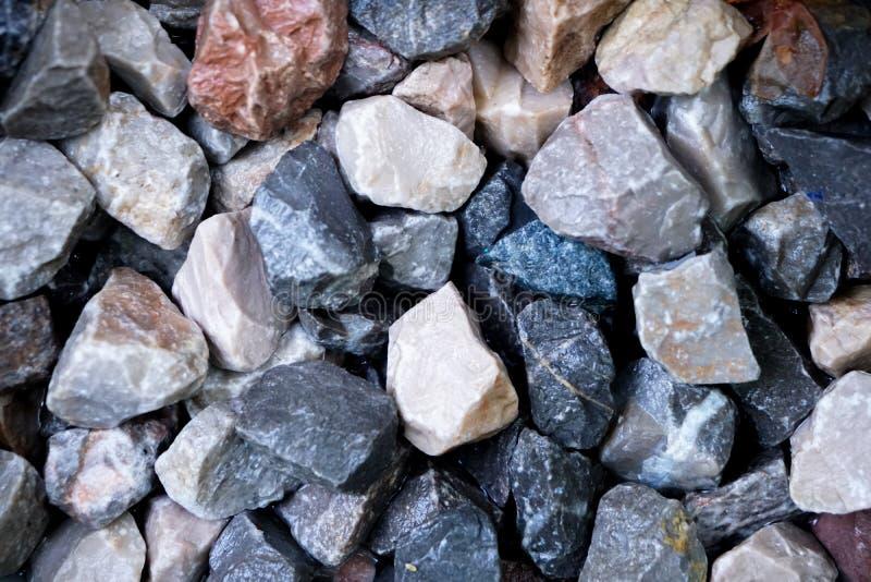 Kleine rote Steine lizenzfreie stockbilder
