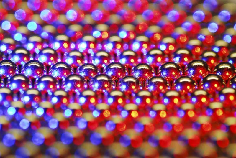 Kleine runde Magneten stockfotografie