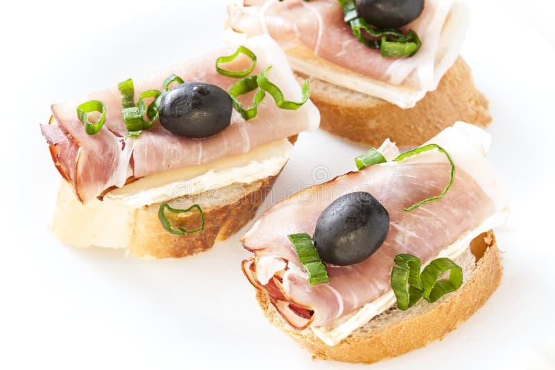 Kleine Sandwich royalty-vrije stock foto