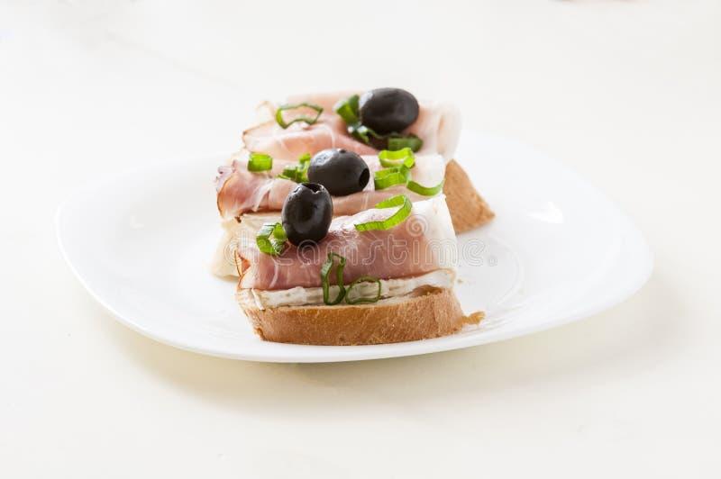 Kleine Sandwich royalty-vrije stock fotografie