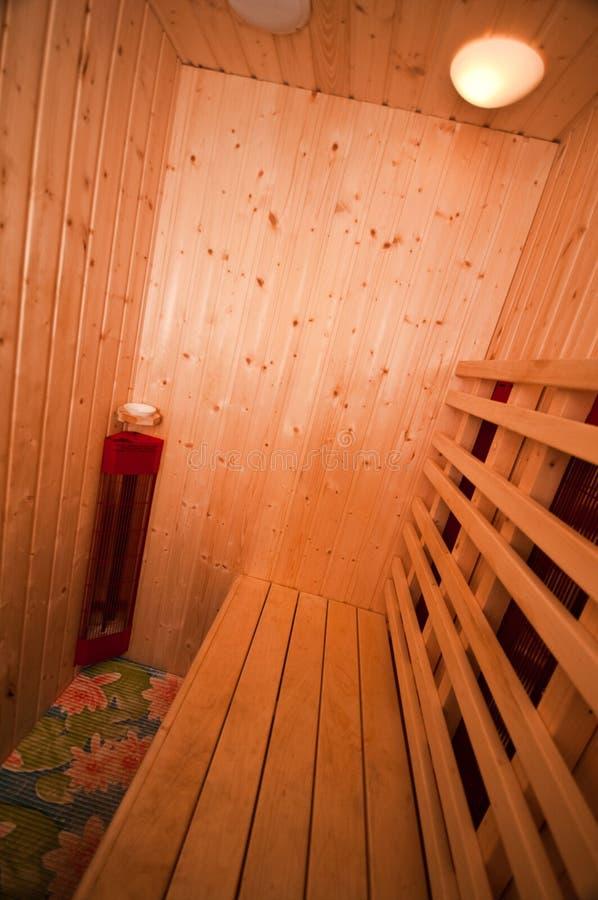 kleine sauna stockfoto bild von zuhause cozy innen 27784410. Black Bedroom Furniture Sets. Home Design Ideas