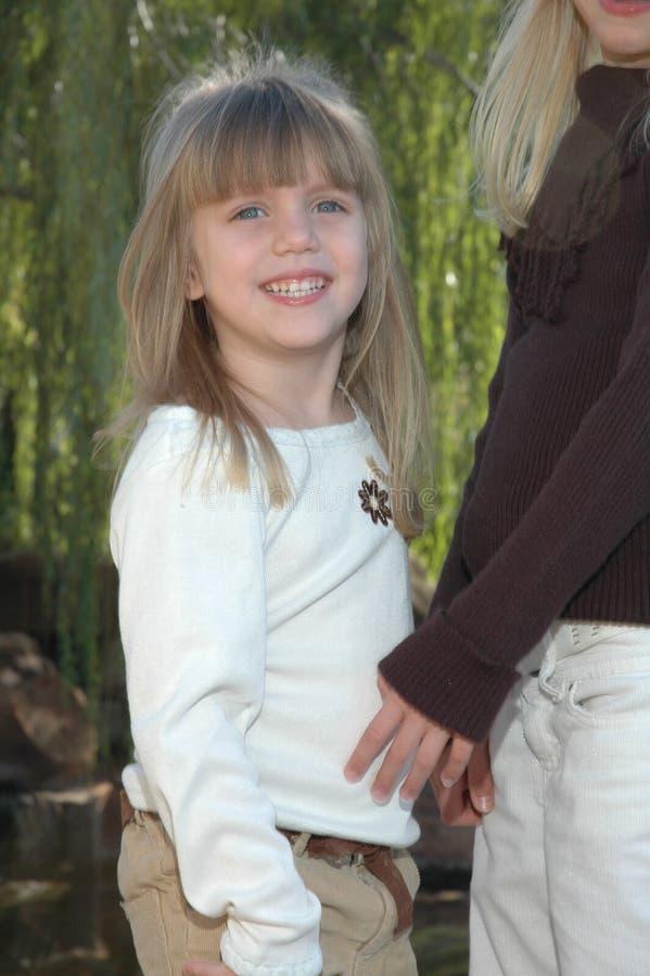 Kleine Schwester stockfoto