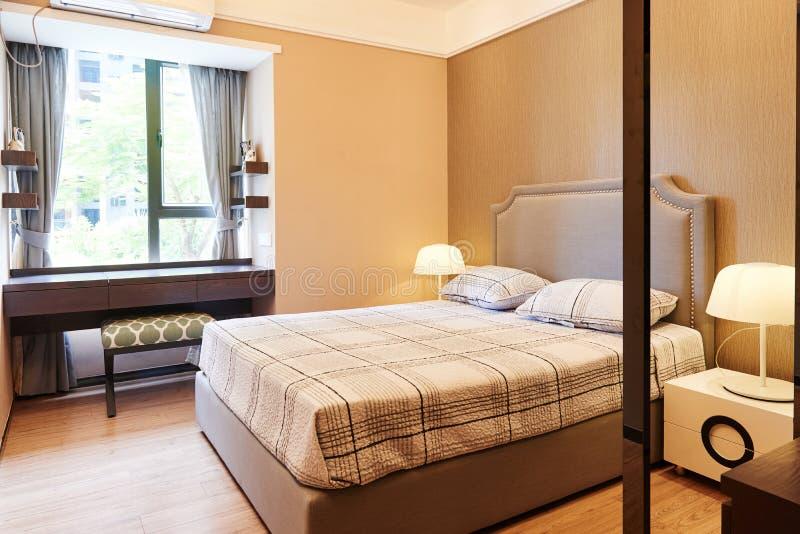 Kleine slaapkamer royalty-vrije stock foto