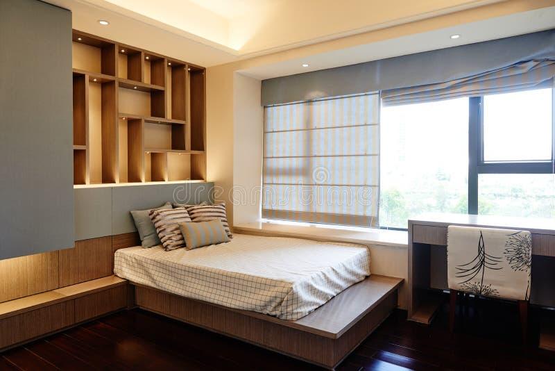 Kleine slaapkamer royalty-vrije stock fotografie