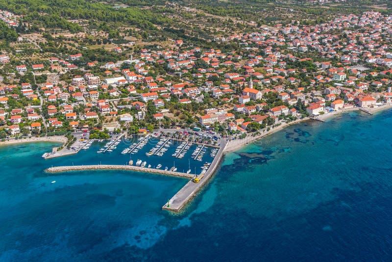Orebic, Kroatië stock foto