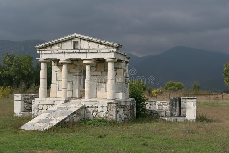 Kleine Tempel stock afbeelding