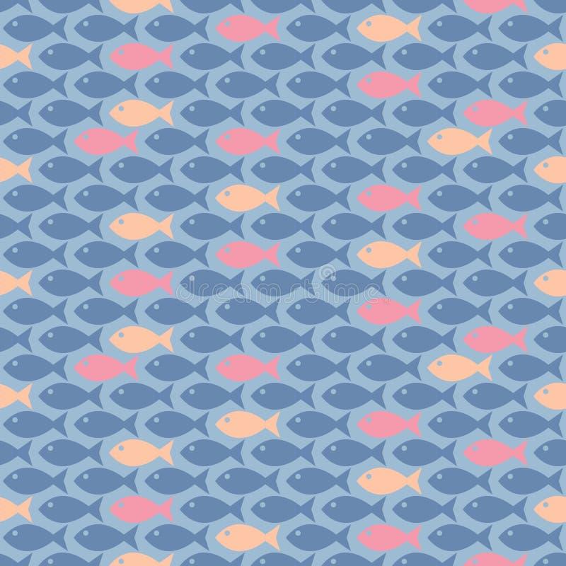 Kleine vissen stock illustratie