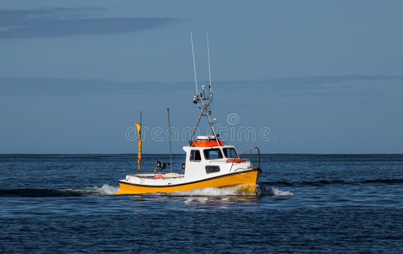 Kleine vissersboot royalty-vrije stock afbeelding