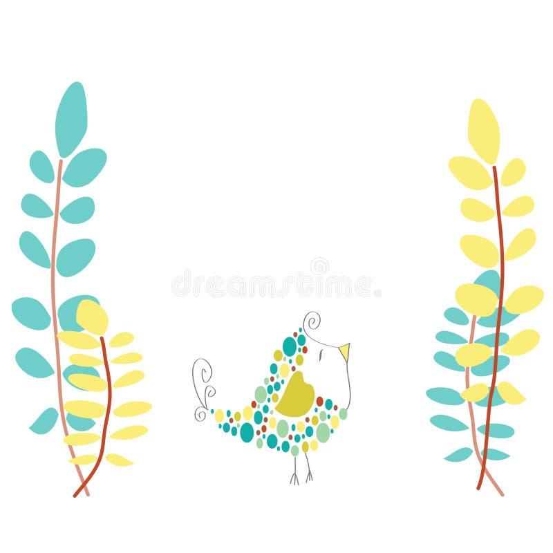 Download Kleine Vogel-Abbildung vektor abbildung. Illustration von türkis - 26351153