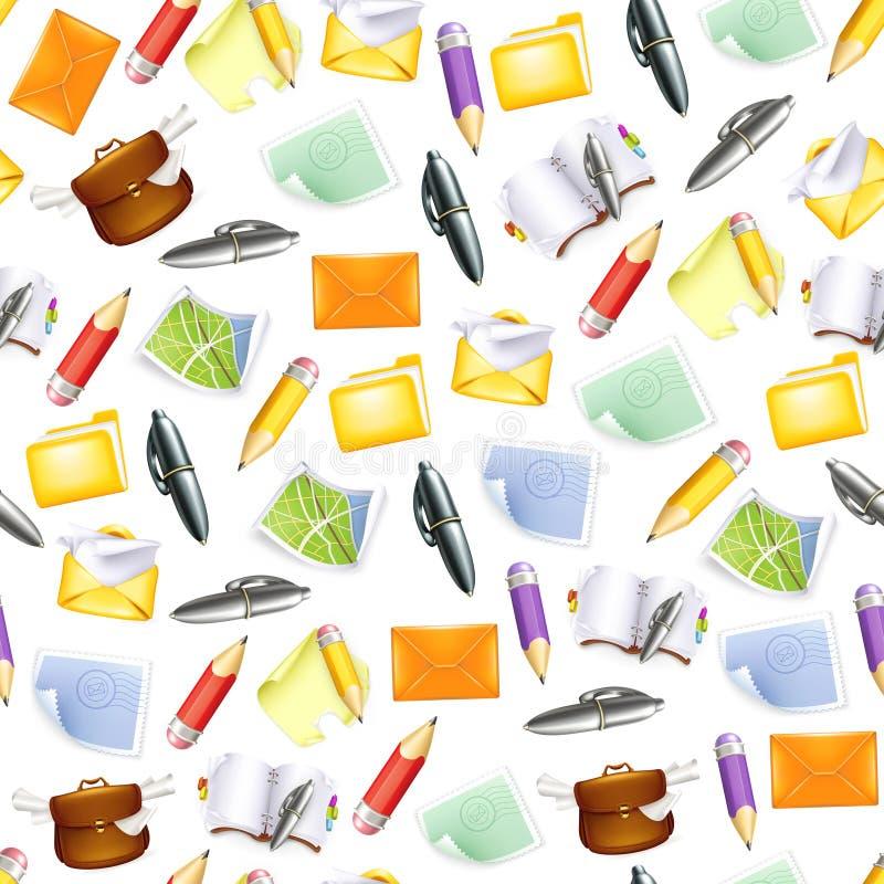 Kleine voorwerpen, naadloos patroon vector illustratie
