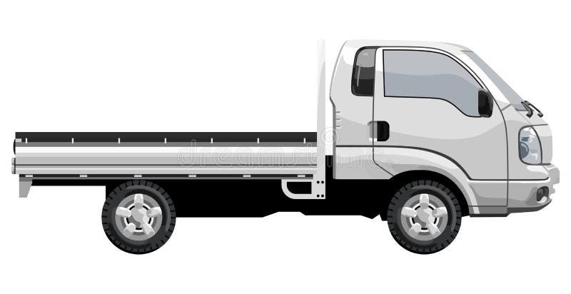 Kleine vrachtwagen vector illustratie