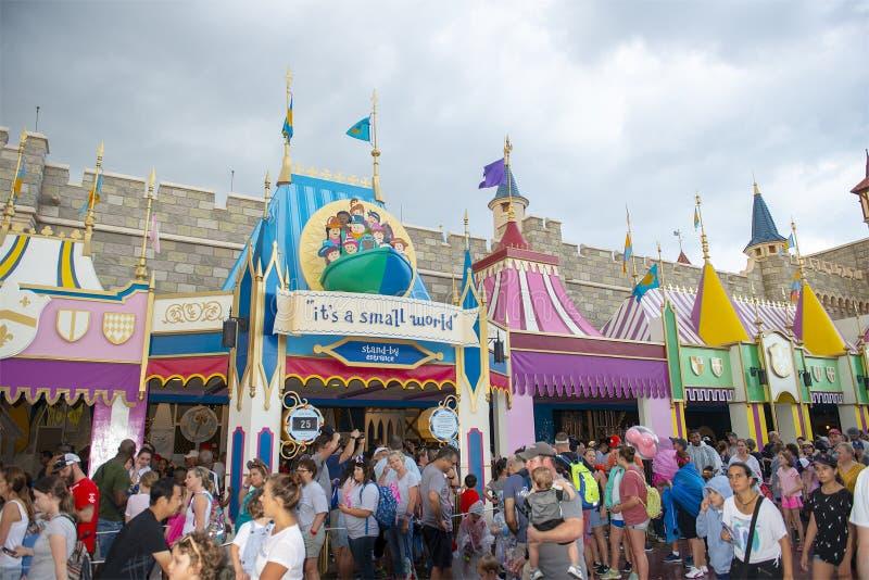 Kleine Wereld, Disney World, Reis, Magisch Koninkrijk royalty-vrije stock fotografie