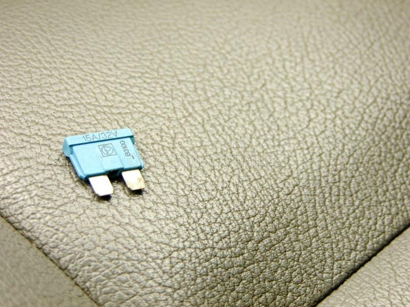 Kleine Zekering op Front Seat stock foto